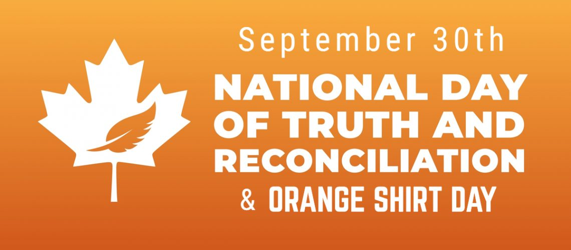 Nat. Day of Truth and Reconciliation Orange Shirt Day
